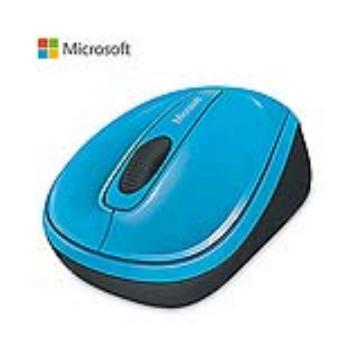 Microsoft 無線行動滑鼠3500-藍