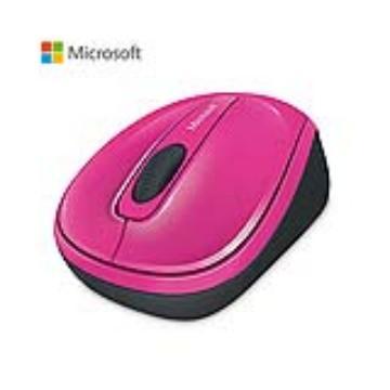 Microsoft 無線行動滑鼠3500-粉