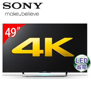 【節能補助】SONY 49型4K LED智慧型液晶電視