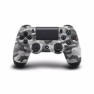 PS4-震動手把(迷彩灰)