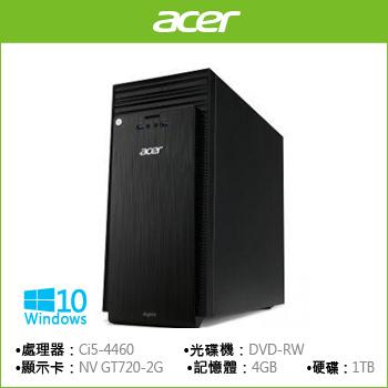 【福利品】ACER TC-705 Ci5-4460 GT720四核獨顯桌上型電腦