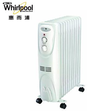 惠而浦11片機械式葉片電暖器
