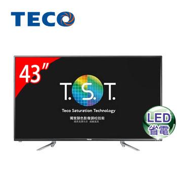 東元 43型低藍光LED液晶顯示器
