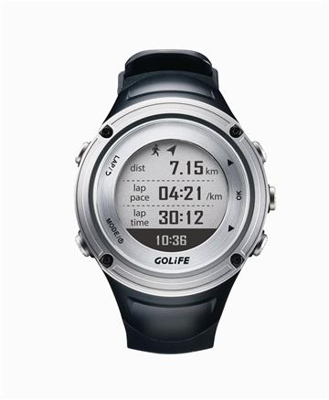PAPAGO GoWatch X-PRO GPS智慧運動錶-銀