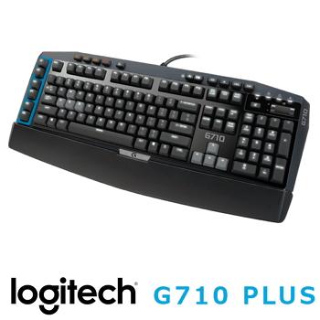 羅技G710+機械遊戲鍵盤-青軸