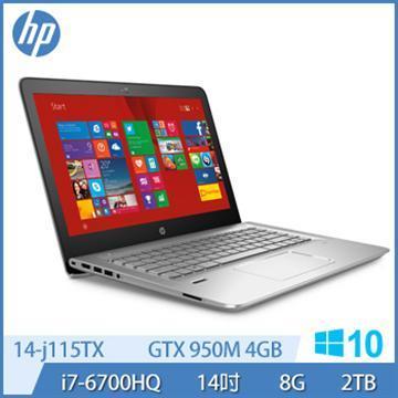HP Ci7 GTX950M 電競獨顯 Win 10 筆記型電腦