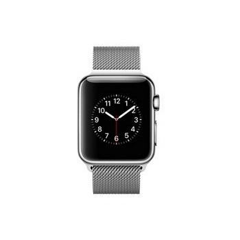 Apple Watch 38mm/不鏽鋼/米蘭式錶環 MJ322TA/A