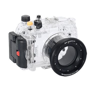Kamera For Sony DSC-RX100M2 潛水殼-黑