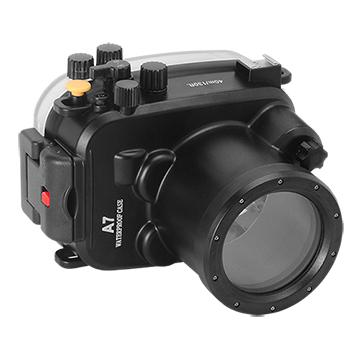 Kamera For Sony α7 / α7R (28-70mm) 潛水殼-黑