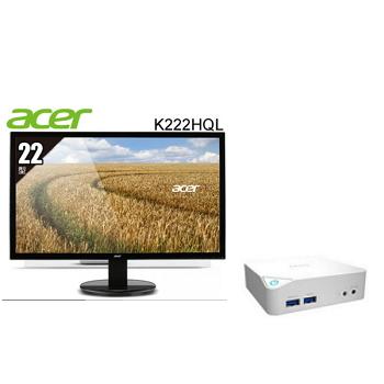 """微星MSI 迷你電腦+ACER 22""""液晶顯示器組合"""