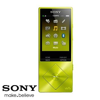 【展示機】SONY A25 16G(黃)MP4