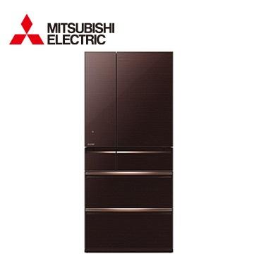 MITSUBISHI 525公升全鏡面1級節能六門冰箱