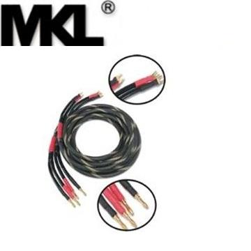 MKL 5米發燒喇叭線Y字-香蕉頭(5S12)