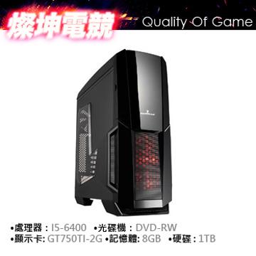 Intel Ci5 6400 8G GTX750Ti 電競獨顯