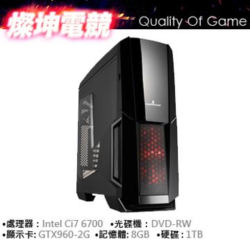 華碩 i7-6700 8G 1TB GTX960 電鏡獨顯