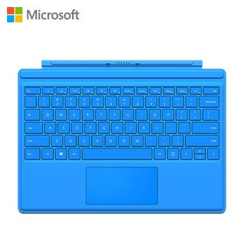 微軟Surface Pro 4實體鍵盤(青藍)