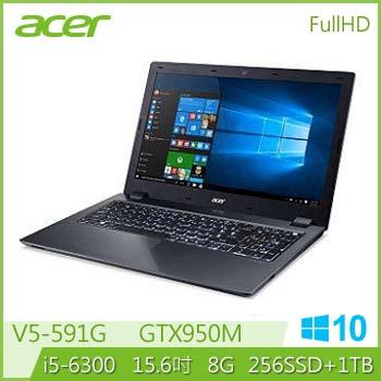 【混碟款】ACER V5-591G Ci5 GTX950 輕薄電競獨顯筆電