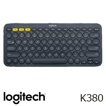 羅技K380跨平台藍牙鍵盤-黑