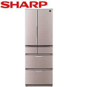 【福利品 】SHARP 465公升1級除菌離子六門冰箱