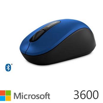 Microsoft藍牙行動滑鼠3600-藍