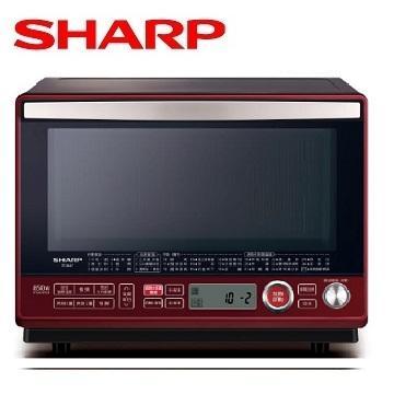 SHARP 31L 水波爐(紅)