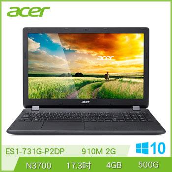ACER ES1-731G N3700 NV910 獨顯筆電