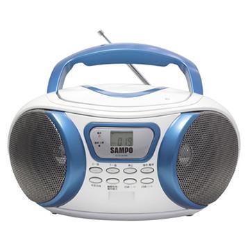 [福利品] SAMPO手提MP3音響