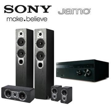 SONY Hi-Res/4K 擴大機+JAMO 喇叭劇院組