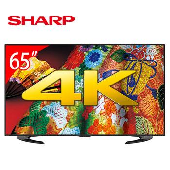 SHARP 65型4K LED液晶電視