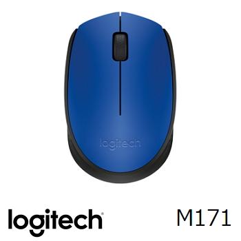 羅技M171無線滑鼠-藍