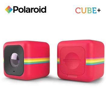 Polaroid Cube+ 運動攝影機-紅