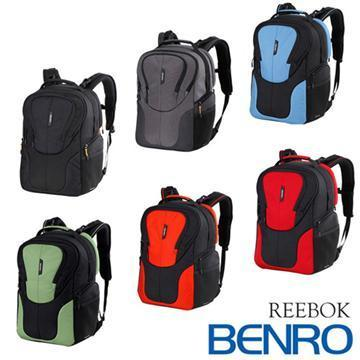 BENRO 百諾 REEBOK 300N 銳步系列 雙肩攝影後背包 (勝興公司貨) 黑色