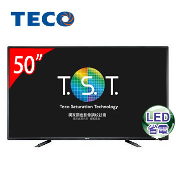 【福利品】東元50型LED液晶顯示器