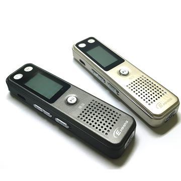 【16G】EMMAS 數位MP3錄音筆-金