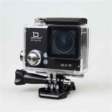 DRACO 4K超高清運動防水攝影機-黑