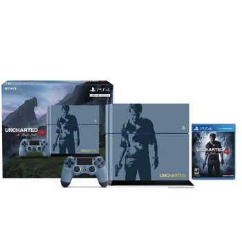 PS4 秘境探險 4 主機同捆組