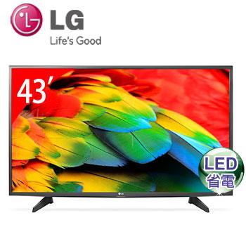LG 43型LED智慧型液晶電視