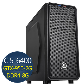 技嘉電競-戰爭機器 Ci5 6400 8G 1TB GTX950 電競獨顯