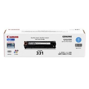 Canon CARTRIDGE331 C藍色碳粉匣