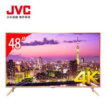 JVC 48型4K 超薄智慧聯網
