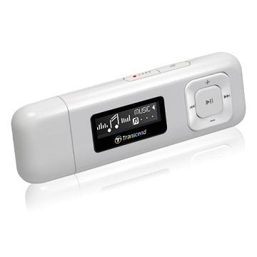 【8G】創見MP330 MP3(白)