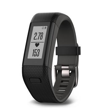Garmin vivosmartHR+腕式心率GPS手環-黑