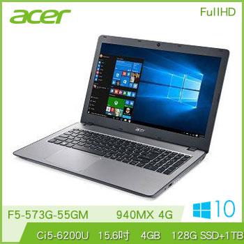 【混碟款】ACER F5-573G Ci5 940MX獨顯筆電