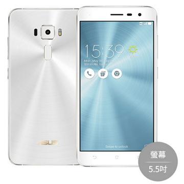 【5.5吋】ASUS ZenFone 3 -白
