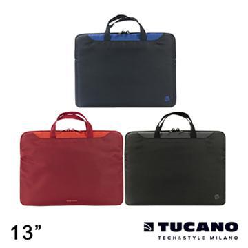 """Tucano MINI 輕薄多功能手提袋 13"""" 紅"""
