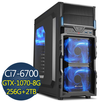 微星 i7-6700 16G 2TB+256SSD GTX1070 電競獨顯