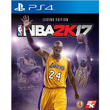 PS4-NBA 2K17傳奇珍藏版 (中英文版)