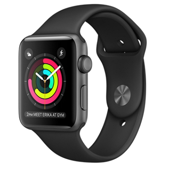 【38mm】Apple Watch Series 2 /金色鋁金屬/淡灰色運動型錶帶