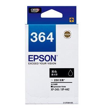 EPSON T364 黑色墨水匣