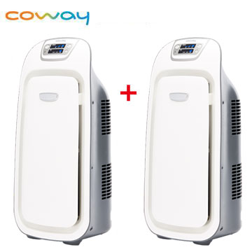 Coway 7-10坪抗敏型空氣清淨機 *2台